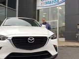 Merci Mme Lemay pour votre confiance en Chambly Mazda à l'occasion de votre achat d'une CX-3 2017, Chambly Mazda