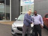 Merci M. Thélemaque pour votre confiance lors de votre achat de Mazda-CX5, Chambly Mazda