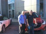 Félicitations M. Bisson pour l'acquisition de votre Mazda, Chambly Mazda