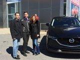 Félicitations à M. Colin Hirjaba et Mme Hirjaba Bitcasu pour votre achat, Chambly Mazda