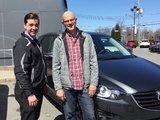 Félicitations M. Michon pour votre nouveau véhicule Mazda CX5, Chambly Mazda