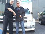 Merci M. Gladu de la confiance apportée à Chambly Mazda, Chambly Mazda