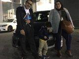 Félicitations à M. Abdelbaki pour l'acquisition de son nouveau véhicule, Chambly Mazda