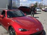 Félicitations M. Rondeau pour votre nouvelle Mazda MX5 2017, Chambly Mazda