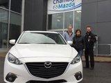 Félicitations M. Gemme pour votre nouvelle Mazda GT, Chambly Mazda