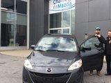 Félicitations M. Dutton pour votre achat chez Chambly Mazda, Chambly Mazda