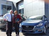 Félicitations Mme Legault pour votre nouvelle Mazda GS 2017, Chambly Mazda