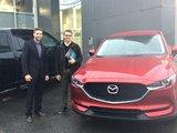 Merci M. Gosselin pour votre confiance lors de votre achat de votre Mazda CX5 2017, Chambly Mazda