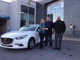Félicitations M. Côté et Mme Henry pour votre nouvelle Mazda 2017, Chambly Mazda