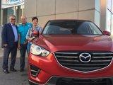 Félicitations Mme Duguay pour votre nouvelle Mazda CX5, Chambly Mazda