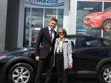Félicitations Mme Malo pour votre nouvelle Mazda CX3 2017, Chambly Mazda