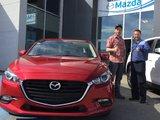 Félicitations M. Gagnon pour votre nouvelle Mazda 3  2017, Chambly Mazda
