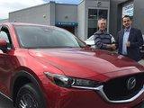 Félicitations M. Gélinas pour votre nouvelle Mazda CX5 2017, Chambly Mazda