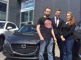 Félicitations Mme Buisson pour votre nouvelle Mazda 3GS, Chambly Mazda
