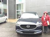 Félicitations Mme Brosseau pour votre nouvelle Mazda CX5 2017, Chambly Mazda