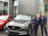 Merci Mme Dufresne de la confiance apportée à Chambly Mazda lors de l'acquisition de votre nouvelle Mazda CX5 2017, Chambly Mazda
