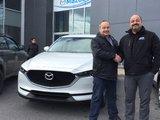Félicitations M. Lespérance pour votre nouvelle Mazda CX5 2017, Chambly Mazda
