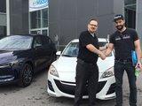 Félicitations M. Ducharme Trempé pour votre nouvelle Mazda, Chambly Mazda
