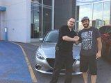 Félicitations à M. Forbeck pour l'achat de son nouveau véhicule Mazda., Chambly Mazda
