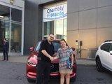 Félicitations à Mme Gendron pour l'achat de sa nouvelle Mazda CX5 2017, Chambly Mazda