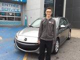 Félicitations M. Mathieu Chevigny pour l'achat de votre Mazda3, Chambly Mazda