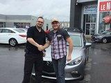 Félicitations  M. Giroux pour l'achat de votre Mazda 3, Chambly Mazda