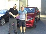 Félicitations à M. Robert Barré pour l'acquisition de sa nouvelle Mazda CX5 2017, Chambly Mazda