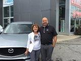 Félicitations Madame Pelletier pour l'achat de votre nouvelle Mazda CX5, Chambly Mazda