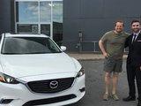 Félicitations à M. Richard Côté pour l'achat de sa nouvelle Mazda 6 2017, Chambly Mazda