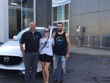 Félicitations M. Côté et Mme Fontaine Brais pour l'achat de votre nouvelle Mazda CX5 2017, Chambly Mazda