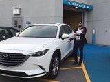 Félicitation Madame Marculescu pour votre nouvelle Mazda CX9 2017, Chambly Mazda
