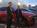 Félicitations M. Philippe Dascotte pour votre nouvelle Mazda CX5 2017, Chambly Mazda