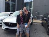 Félicitations M. Et Mme Lapointe pour votre nouvelle Mazda Cx 5, Chambly Mazda