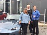 Félicitations Mme Bourdon pour votre nouvelle Mazda CX 5 2017, Chambly Mazda