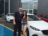 Merci Mme Shanks de faire confiance à Chambly Mazda, Chambly Mazda