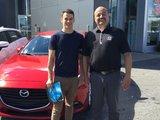 Félicitations Monsieur Laflamme pour votre nouvelle Mazda 3 2017, Chambly Mazda