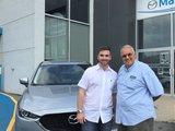 Félicitations Monsieur Lord pour votre nouvelle Mazda CX5 2017, Chambly Mazda