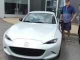 Félicitations Monsieur Théberge pour votre nouvelle Mazda MX5 2017, Chambly Mazda