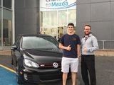 Merci M. Bouchard de votre confiance envers Chambly Mazda, Chambly Mazda