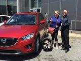 Félicitations à Andréa Elizabeth Beaton pour sa nouvelle CX5, Chambly Mazda