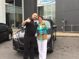 Félicitations Mme Walsh pour votre nouvelle Mazda CX5, Chambly Mazda