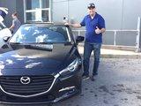 Félicitations Monsieur Marotte pour votre nouvelle Mazda 3 2017, Chambly Mazda