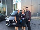 Félicitations Madame Chapdelaine pour votre nouvelle Mazda CX5 2017, Chambly Mazda