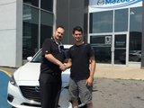 Félicitation à M. Crusson pour votre Mazda 3, Chambly Mazda