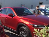 Félicitations M. Beaudry pour votre nouvelle Mazda CX5 2017, Chambly Mazda