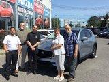 Félicitations M. Léonard pour votre nouvelle Mazda CX5 2017, Chambly Mazda