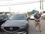 Félicitations Monsieur Chausse pour votre nouvelle Mazda CX5 2017, Chambly Mazda