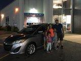 Félicitations Madame Mambroyan pour votre Mazda , Chambly Mazda