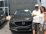 Félicitations Monsieur Turgeon pour votre nouvelle Mazda CX5 2017, Chambly Mazda