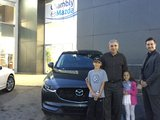 Félicitations Monsieur Wais et Mme Mercier pour votre nouvelle CX5 2017, Chambly Mazda